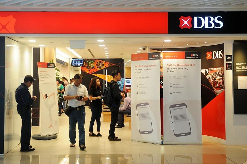 DBS Bank has been named the most valuable bank brand in Asean for the second consecutive year, by the Brand Finance Banking 500 study released on Monday. -- ST PHOTO: TIFFANY GOH