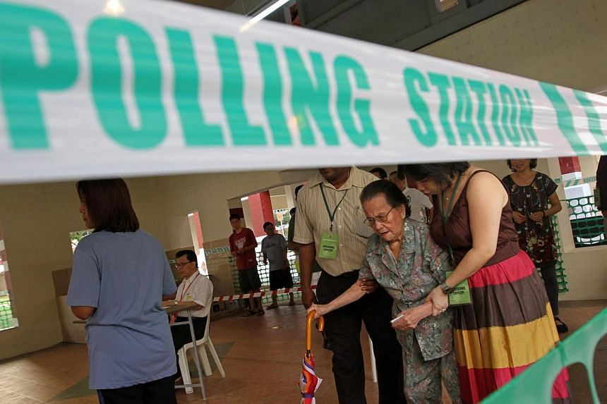 Prime Minister Lee Hsien Loong has directed that the revision of the Registers of Electors be made and completed by April 30.-- PHOTO: ST FILE