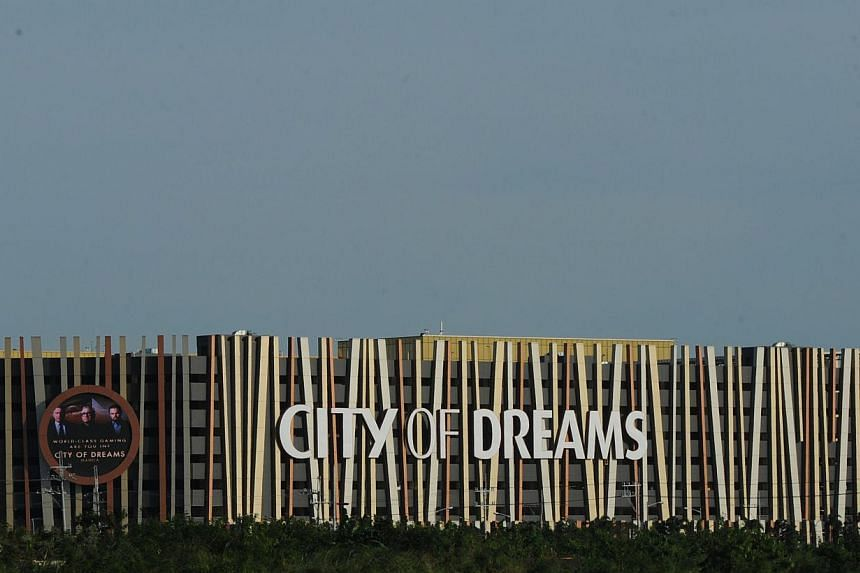 The newly-opened City of Dreams mega-casino is seenin Manila on Feb 2, 2015. A new mega-casino opened in the Philippines on Monday as the fast-growing southeast Asian nation ups its bid to become a world gaming destination. -- PHOTO: AFP