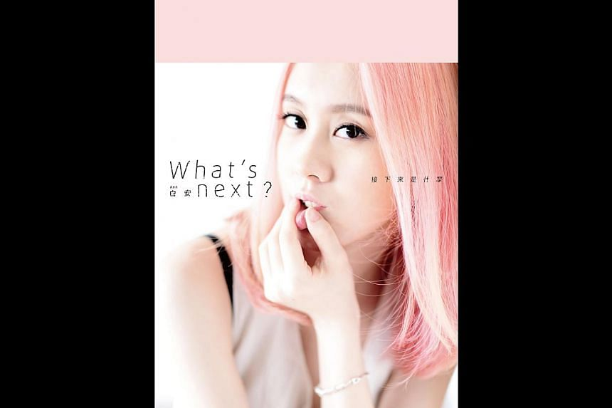 Bai An's new album, What's Next? has two songs topping the Global Chinese Golden Charts.