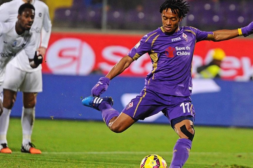 Premier League leaders Chelsea spent 35 million euros (S$53.7 million) to bring Colombian Juan Cuadrado to Stamford Bridge, but Manchester United, Manchester City and Arsenal did no significant late business at the closing of the January transfer win