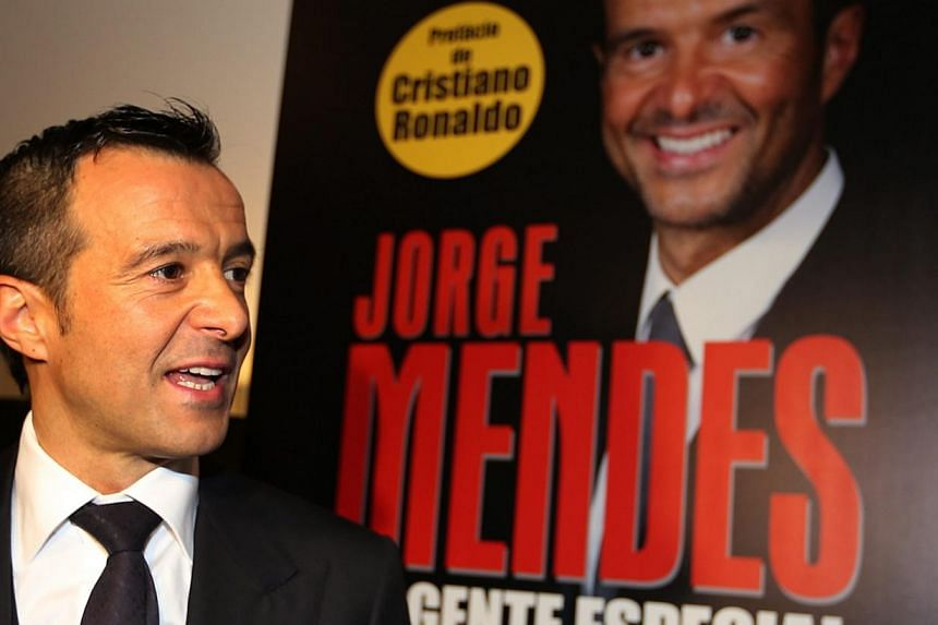 Portuguese soccer agent Jorge Mendes during the presentation of the book Jorge Mendes, The Special Agent in Lisbon, Portugal, on Feb 2, 2015. Cristiano Ronaldo will finish his career at Real Madrid, the Portuguese superstar's agent said on Tuesd