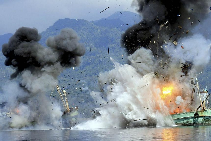 The spectacular sinking of foreign vessels that have been found to have engaged in illegal fishing in Indonesian waters has needlessly generated the impression of aggressiveness on Indonesia's part. It would serve Indonesia well to reassure its neigh