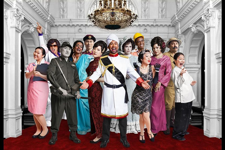 As part of its 15th anniversary, Wild Rice will be staging five productions, including Hotel (above), a cheeky adaptation of The Emperor's New Clothes and Public Enemy starring Lim Kay Siu and Ivan Heng. -- PHOTO: WILD RICE