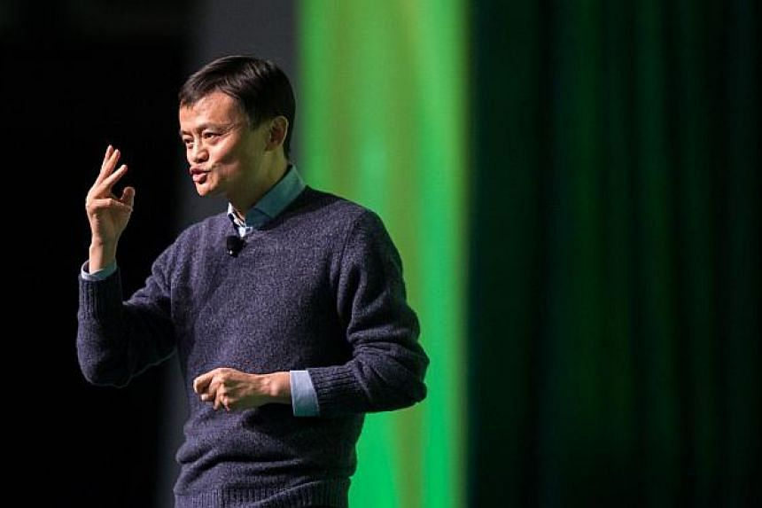 Alibaba founderJack Ma said on Monday that the company is listening to regulators and pushing for change, adding that the e-commerce giant has sent 400 people to jail for selling fake products. -- PHOTO: AFP