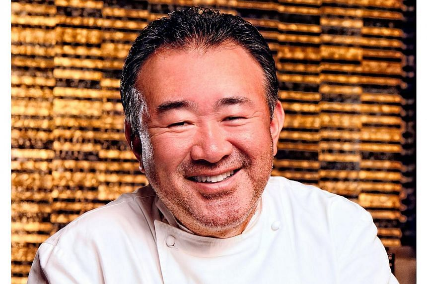 Celebrity chef Tetsuya Wakuda will be given the Diners Club Lifetime Achievement Award, as part of Asia's 50 Best Restaurants Awards organised by William Reed Business Media.-- PHOTO: MARINA BAY SANDS