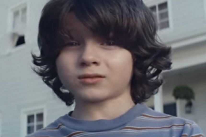 """""""I couldn't grow up because I died from an accident,"""" says a young boy in the Nationwide insurance company commercial that aired during the Super Bowl on Sunday in the United States, causing a twitter storm of criticism. -- PHOTO: YOUTUBE"""