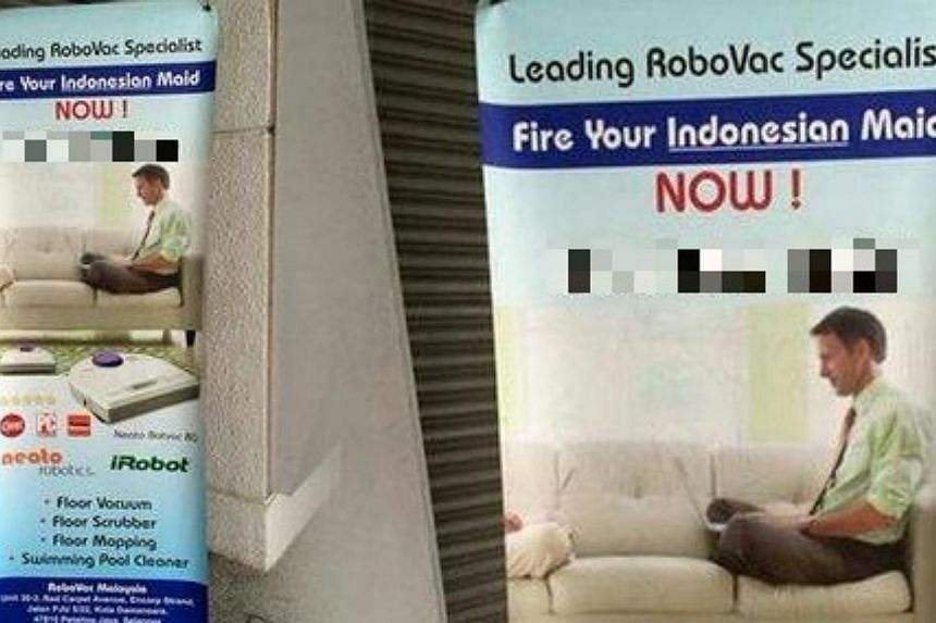 The Indonesian embassy in Kuala Lumpur has sent a letter to the Malaysian Home Ministry in protest of an advertisement deemed to have discredited Indonesia. -- PHOTO: THE STAR/ASIA NEWS NETWORK