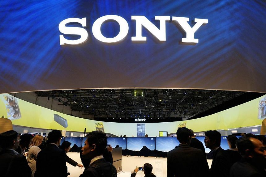 Sony on Wednesday cut its full-year loss forecast by more than a quarter to US$1.4 billion (S$1.94 billion), pointing to its latest three-month results that benefited from a weak yen and improving smartphone sales. -- PHOTO: REUTERS