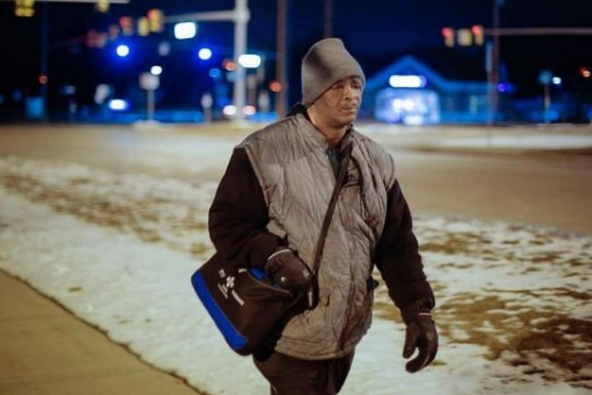 The donations from over 8,000 people will be more than enough to buy a car for 56-year-old James Robertson (above), the subject of a Detroit Free Press article Sunday about his arduous daily commute in the US state of Michigan. -- PHOTO: GO FUND ME