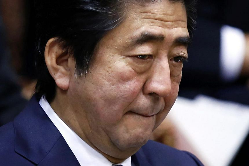 "Japan's Prime Minister Shinzo Abe condemned the apparent execution of a Jordanian pilot by the Islamic State in Iraq and Syria (ISIS) group as ""unforgivable"", days after the murders of two Japanese hostages. -- PHOTO: REUTERS"