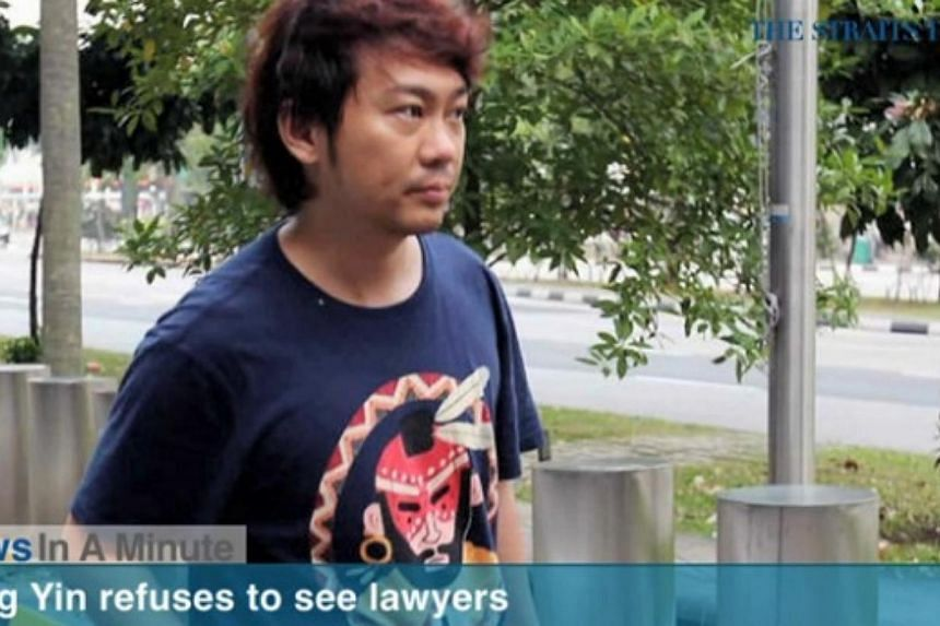 In today's News In A Minute, we look at:Former China tour guide Yang Yin has refused to meet the lawyers representing the niece of widow Chung Khin Chun. -- PHOTO: RAZORTV