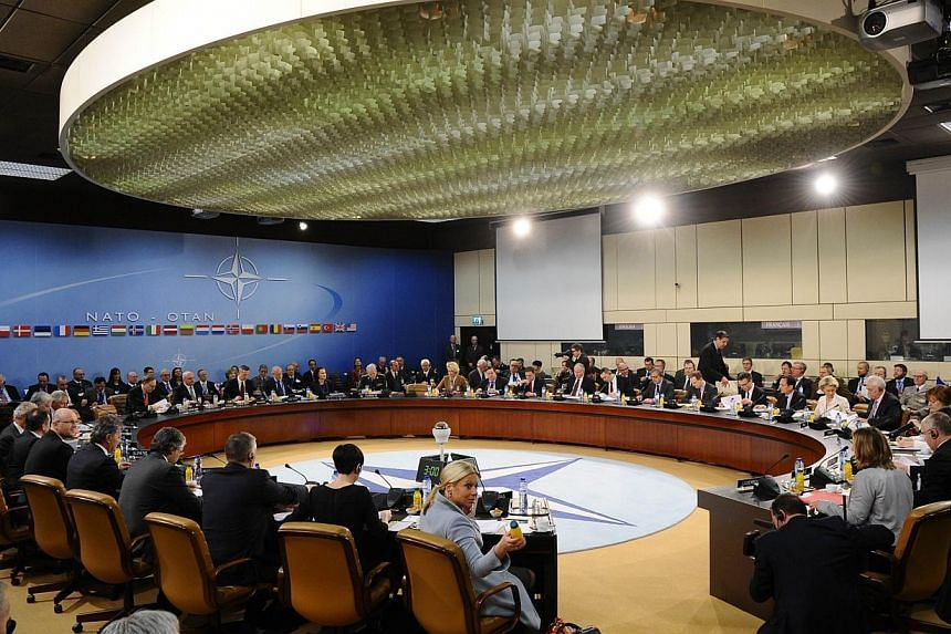 Nato defence ministers met on Thursday, Feb 5, 2015, to sign off on a network of command centres in eastern Europe to rapidly reinforce the region in the event of any threat from Russia, as well as a new regional headquarters and a bigger rapid react