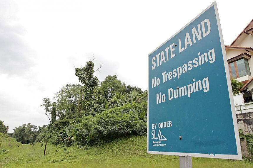 The weak management of land resources by some ministries was red-flagged by the Public Accounts Committee in a report submitted to Parliament. -- PHOTO: ST FILE
