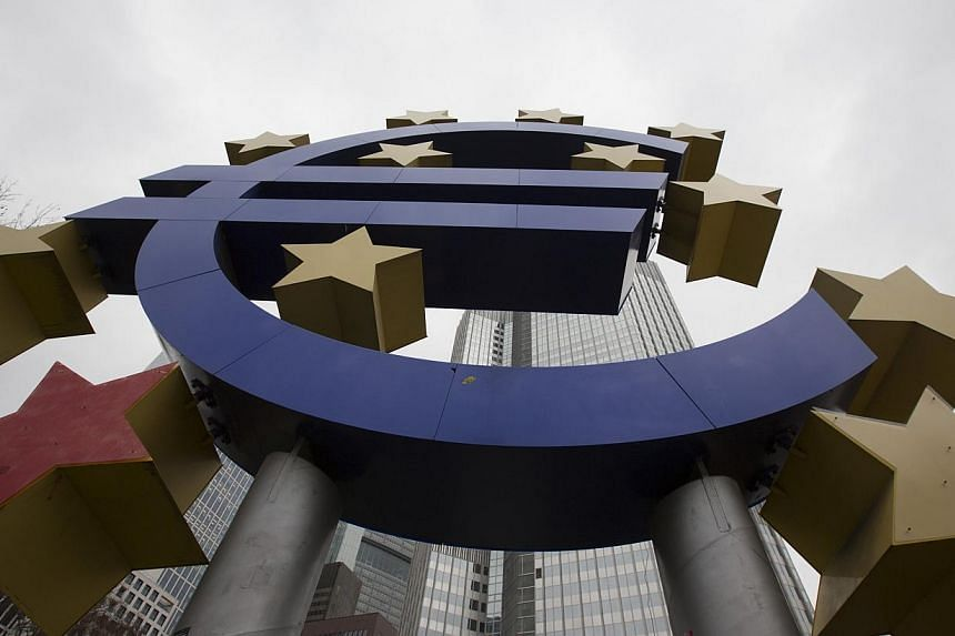 "The former European Central Bank (ECB) headquarters in Frankfurt, Germany. The decision by the ECB to cut off Greek banks' access to a key source of much-needed cash will have ""no adverse impact"" on the country's financial sector, the Greek finance m"