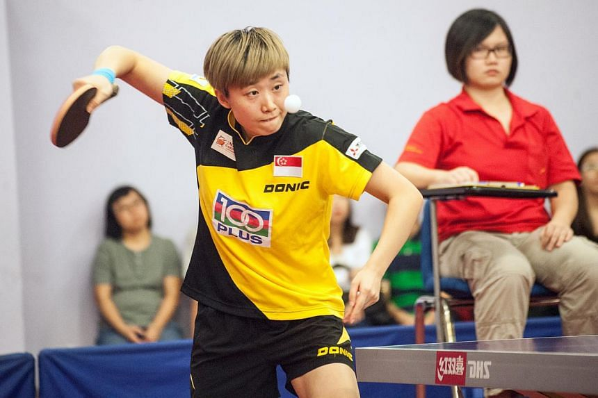 There were few surprises at the Singapore Table Tennis Association (STTA)'s annual Keppel-STTA Awards night on Thursday, with Feng Tianwei picking up the Player of the Year award for the fifth time. -- PHOTO: STTA