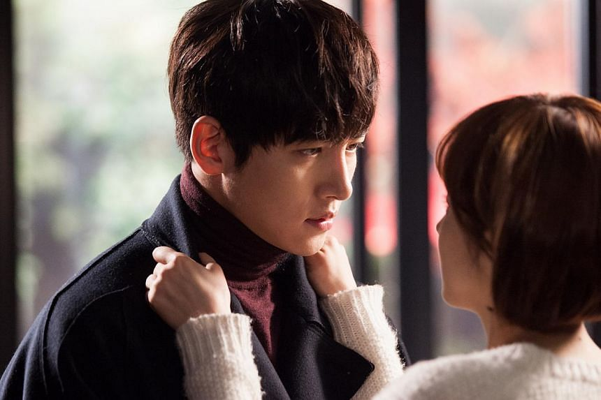 Healer stars Ji Chang Wook as a private operative and Park Min Young (both above) as a reporter he spies on. --PHOTO: KBS WORLD
