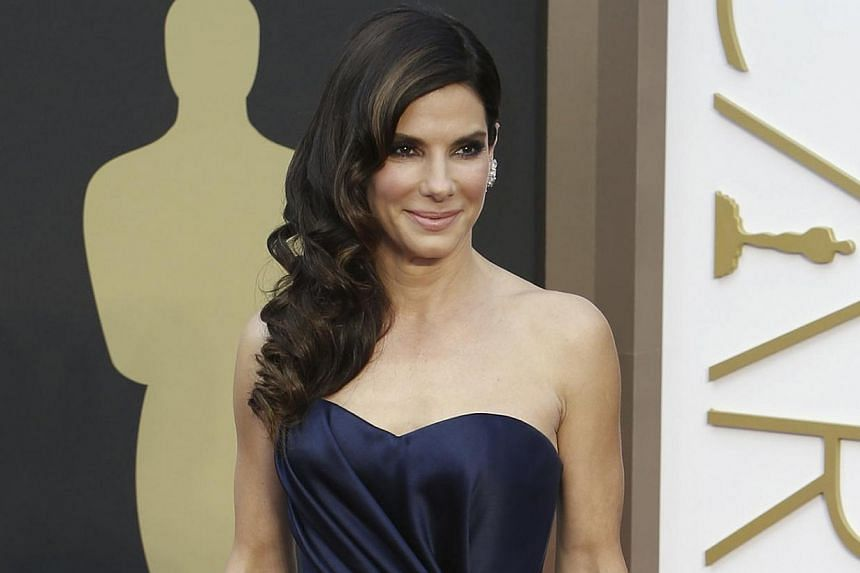 Best Actress Oscar winner Sandra Bullock is one of the actresses who saw their marriages break up after winning the statuette. -- PHOTO: NEW YORK TIMES