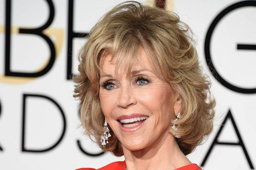 Best Actress Oscar winner Jane Fonda is one of the actresses who saw their marriages break up after winning the statuette. -- PHOTO: AGENCE FRANCE-PRESSE