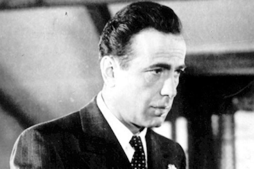Humphrey Bogart, one of the actors nominated for Oscars but who did not win and went on to get divorced soon. -- PHOTO: AGENCE FRANCE-PRESSE