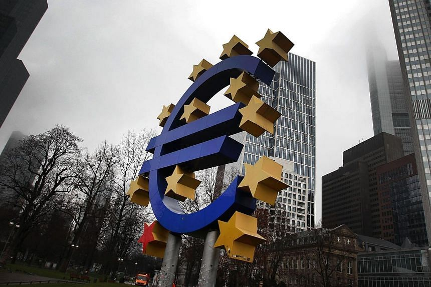 """The decision came just hours after Greece's new finance minister Yanis Varoufakis emerged from a meeting with ECB President Mario Draghi to claim that the ECB would do """"whatever it takes"""" to support member states such as Greece. -- PHOTO: AFP"""