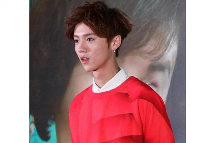 SM Entertainment announced that it has filed a damage suit against former EXO member Luhan and the companies that used the Chinese idol as an advertisement model. -- PHOTO: FACEBOOK/EXO-LUHAN