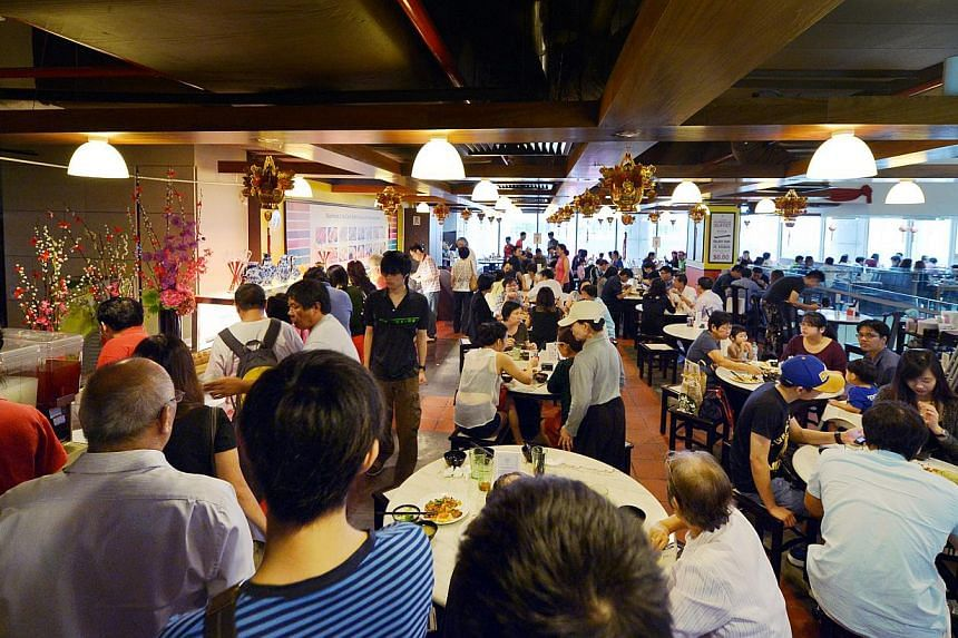 The restaurant was allowed to operate again on Tuesday after the latest inspection by the National Environment Agency (NEA) found it to be clean, with no signs of rodent activity. -- ST PHOTO: ALPHONSUS CHERN