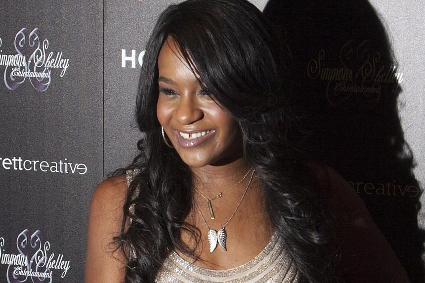 A source, who asked not to be identified, said media reports that Bobbi Kristina Brown (above), Whitney Houston's daughter with singer Bobby Brown, had no brain activity were incorrect. -- PHOTO: REUTERS
