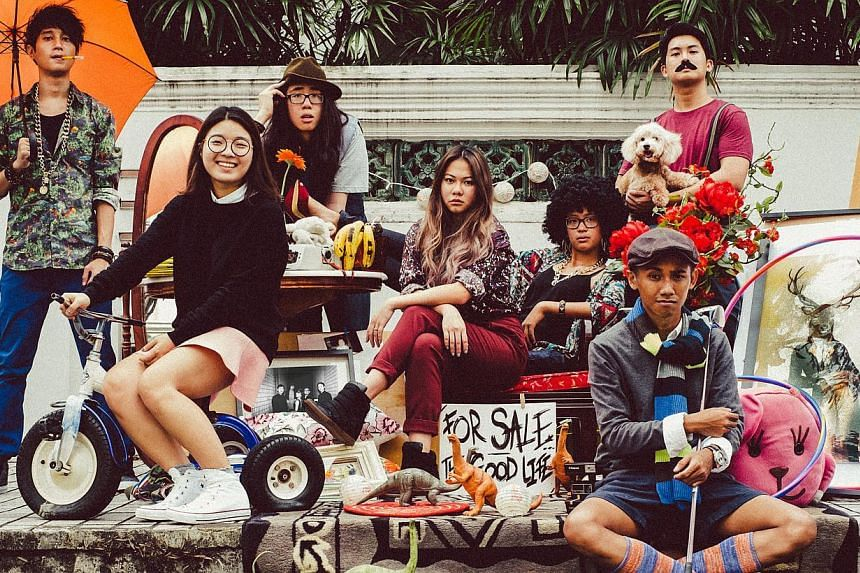 Soul/funk big band The Good Life Project will play at the People's Park Complex's rooftop carpark at the Getai Electronica show. -- PHOTO: ALIWAL ARTS CENTRE