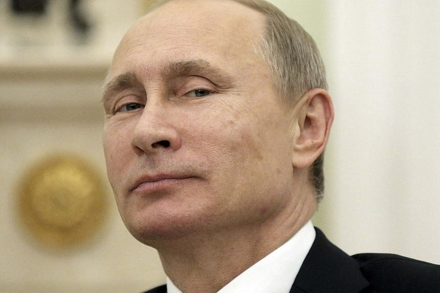 """A Pentagon study from 2008 claimed that Russian President Vladimir Putin (above) has Asperger's syndrome, giving him a need to exert """"extreme control"""" when faced with crises, according to the report released on Thursday. -- PHOTO: REUTERS"""