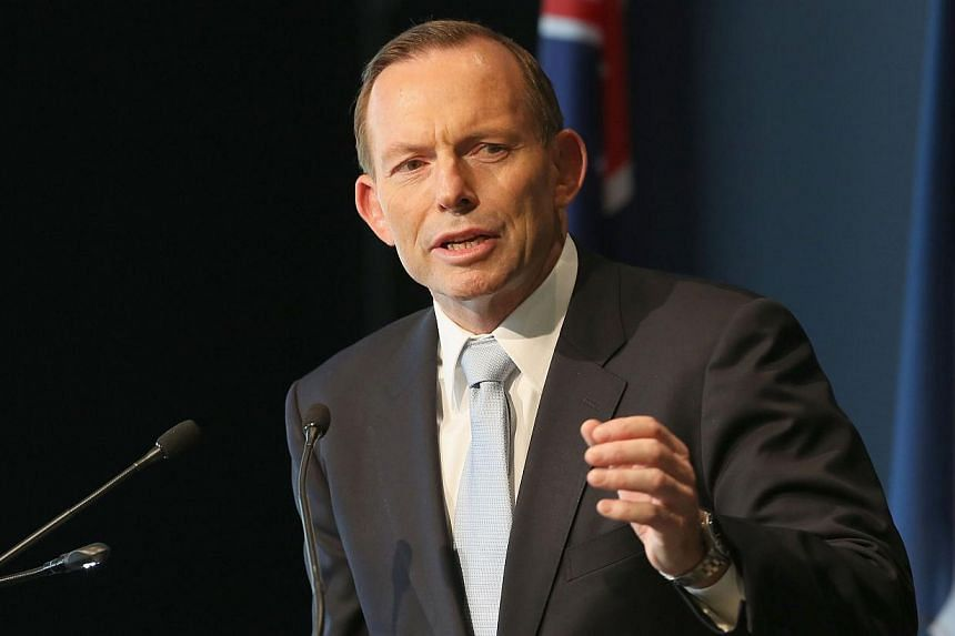 Australian Prime Minister Tony Abbott said Friday he would fight a Liberal party vote next week that could remove him from power. -- PHOTO: AFP