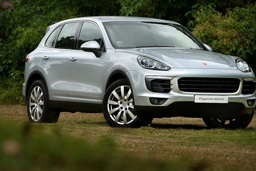 The new Porsche Cayenne drives with a nimbleness one would not expect of the sizeable SUV.