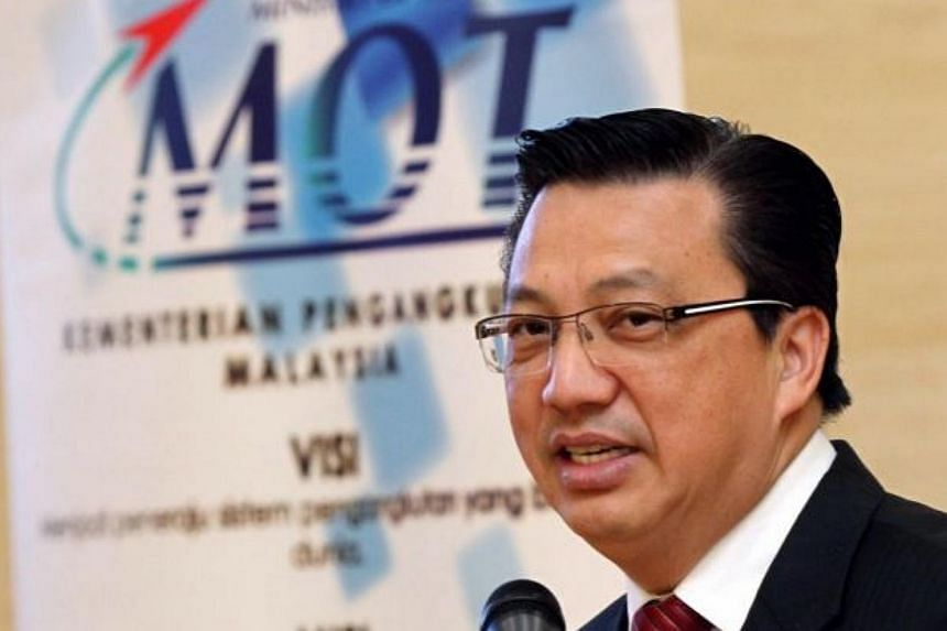 Malaysia's Transport Minister Liow Tiong Lai said they were now looking at the possibility of increasing the number of train trips between the two countries from seven daily currently to 26. -- PHOTO: THE STAR/ASIA NEWS NETWORK