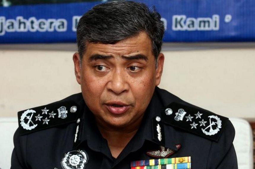 A 45-year-old foreign militant was detained while on a transit stop in Malaysia. Inspector-General of Police Khalid Abu Bakar (pictured) said the suspect has been with a Syrian militant group since May 2012. -- PHOTO: THE STAR/ ASIA NEWS NETWORK&nbsp