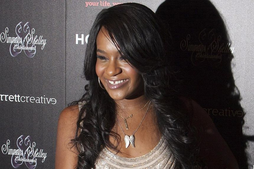 Bobbi Kristina Brown attends the opening night of The Houstons: On Our Own in New York, in this file photo taken on Oct 22, 2012. -- PHOTO: REUTERS
