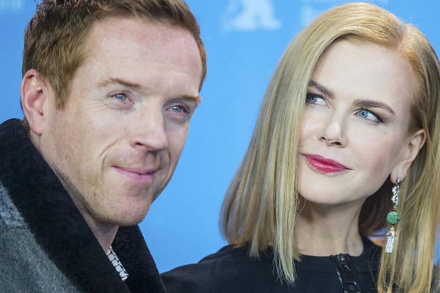 Actors Damian Lewis and Nicole Kidman pose during a photocall to promote the movie Queen Of The Desert, in competition at the 65th Berlinale International Film Festival, in Berlin Feb 6, 2015. -- PHOTO: REUTERS