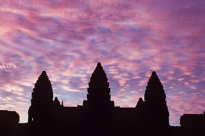 Two American sisters have been arrested in Cambodia for taking naked photos of each other inside the country's famed Angkor temple complex, officials said on Saturday - the latest nude stunt by tourists to spark anger.-- PHOTO: ST FILE