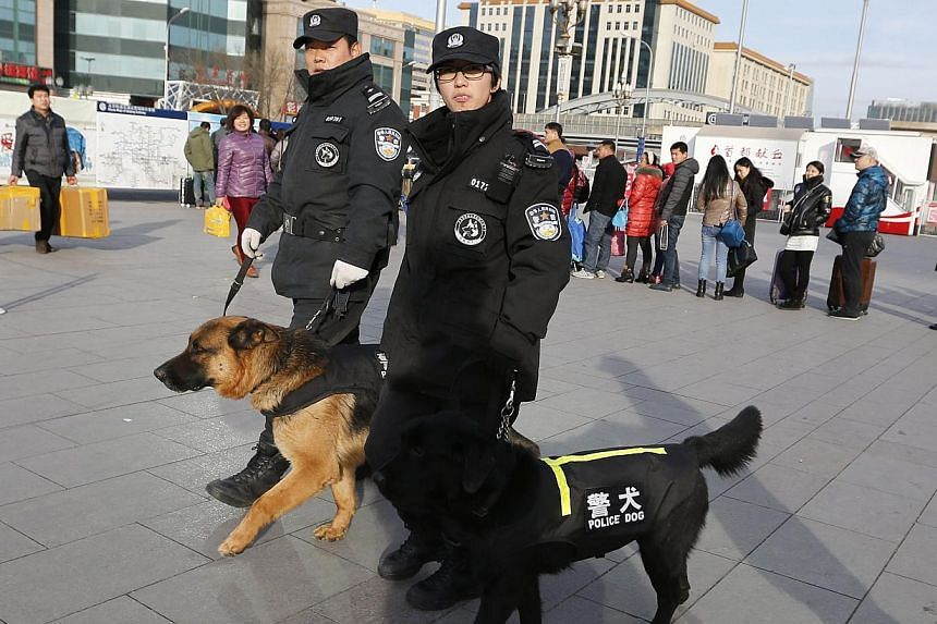 The son of a Chinese official beat a man to death in a dispute over compensation after his dogs bit the victim, state media reported Monday, in a case sparking outrage online. -- PHOTO: EPA