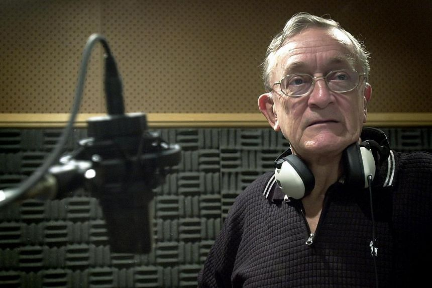 Former radio DJMike Ellery (seen here in a July 18, 2003 file picture), one of Singapore's most prominent radio personalities from the 1950s to 1980s, died on Feb 3, 2015, from lymphoma. -- PHOTO: ST FILE