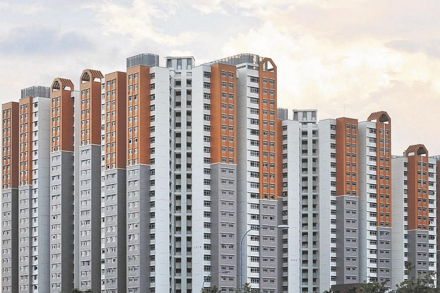 Some 51 flat buyers were unable to take possession of their new flats in 2013 and 2014, after a second credit assessment conducted by the Housing Board. -- ST PHOTO: ALPHONSUS CHERN