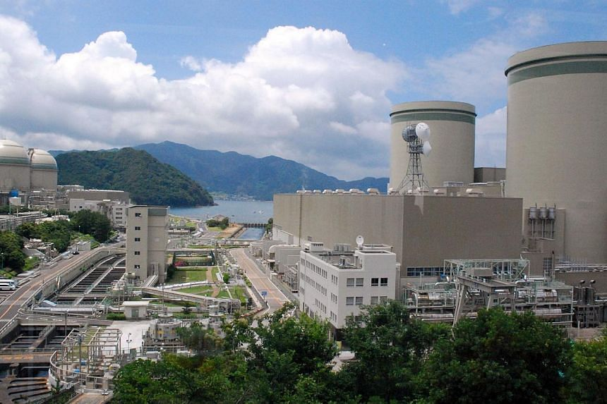A June 27, 2013, photo shows Kansai Electric Power's Takahama nuclear plant in Fukui prefecture, western Japan. -- PHOTO: AFP