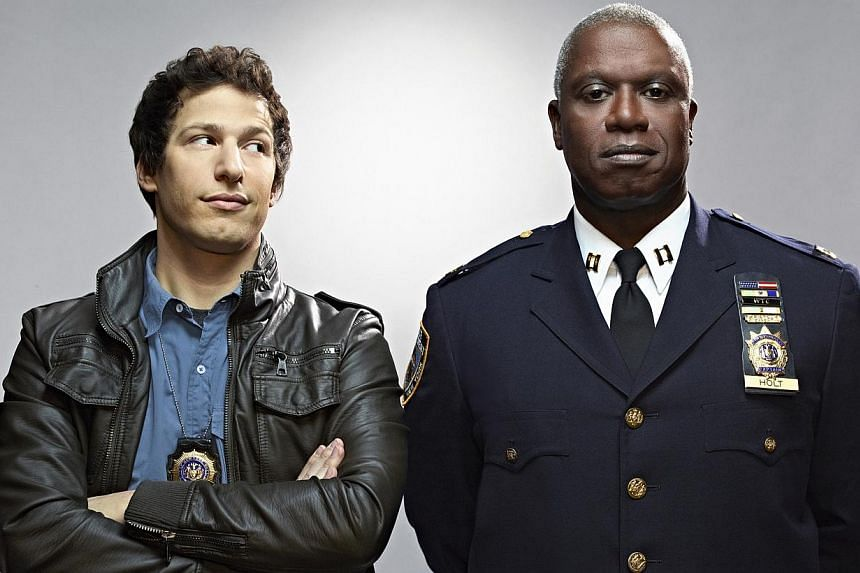 Andre Braugher (right, with Brooklyn Nine-Nine co-actor Andy Samberg).