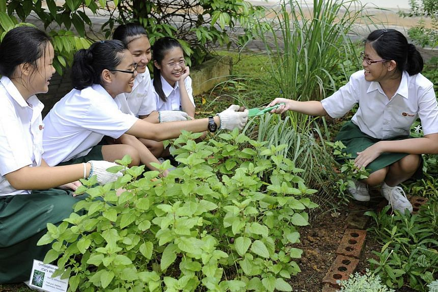 Getting students to be environmentally friendly outside of school was one of the issues that was brought up during an environmental education panel discussion hosted by Second Minister for the Environment and Water Resources Grace Fu on Thursday. &nb