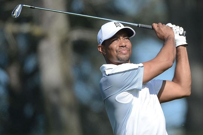 Former golf world No. 1 Tiger Woods said on Wednesday that his game is not up to PGA Tour standards and he will not compete again until it is. -- PHOTO: AFP
