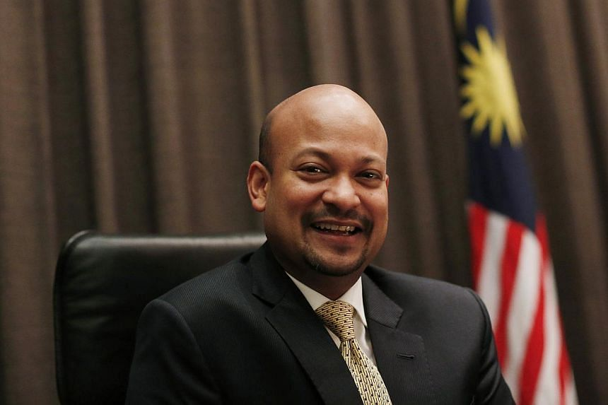 Arul Kanda, newly appointed president and group executive director of Malaysia's state investor 1Malaysia Development Bhd (1MDB), poses for photographs at the head office in Kuala Lumpur Jan 7, 2015.Beleagured Malaysian state-owned fund 1MDB ha