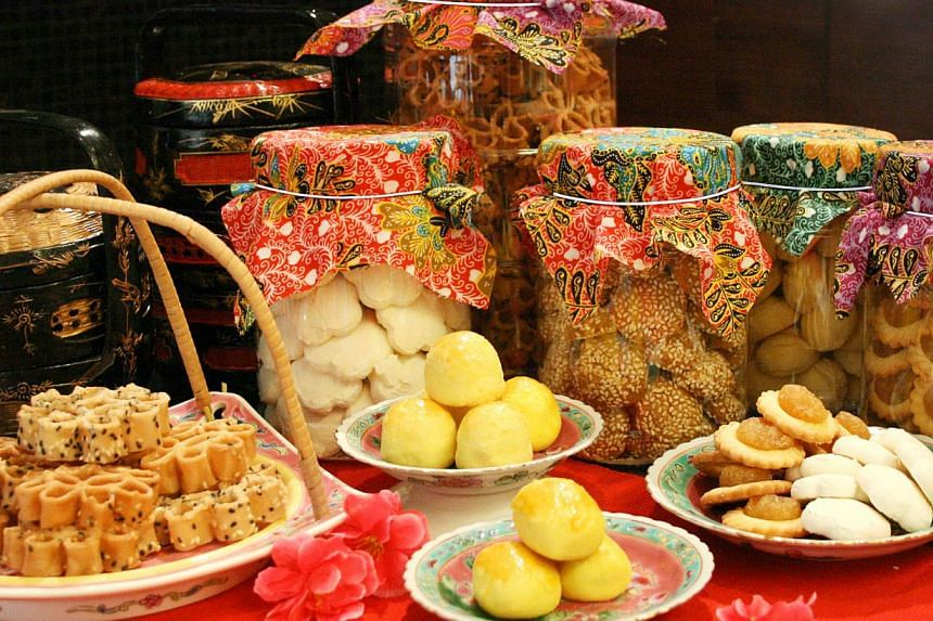 Chinese New Year goodies from Grand Mercure Singapore Roxy hotel. -- PHOTO: GRAND MERCURE SINGAPORE ROXY