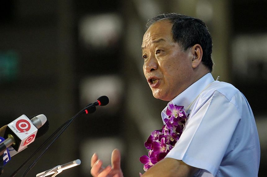 Worker's Party chief Low Thia Khiang. -- PHOTO: ST FILE