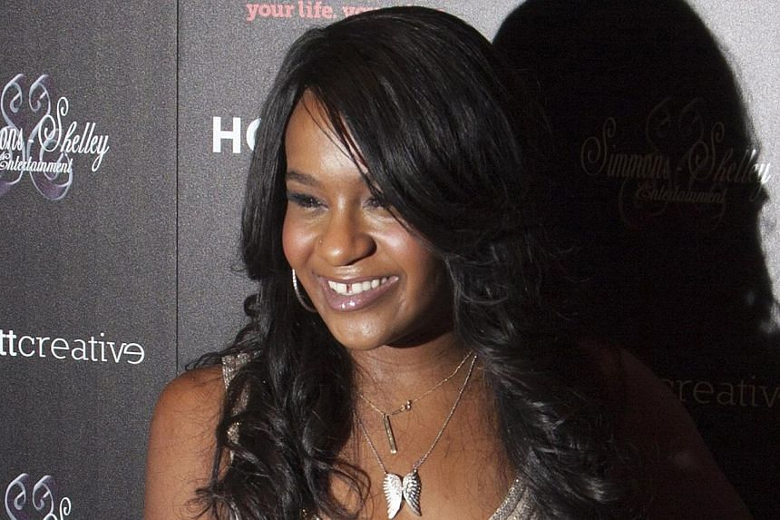 Bobbi Kristina Brown attending the opening of The Houstons: On Our Own in New York, in this Oct 22, 2012 photo. -- PHOTO: REUTERS