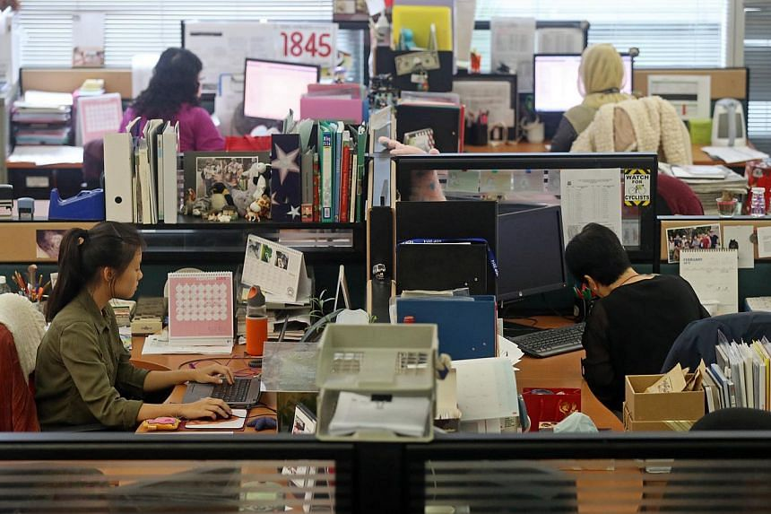 """Harvard professor Rosabeth Moss Kanter observed that women do the lion's share of """"office housework"""", the administrative tasks that help, but don't pay off. -- ST PHOTO: SEAH KWANG PENG"""