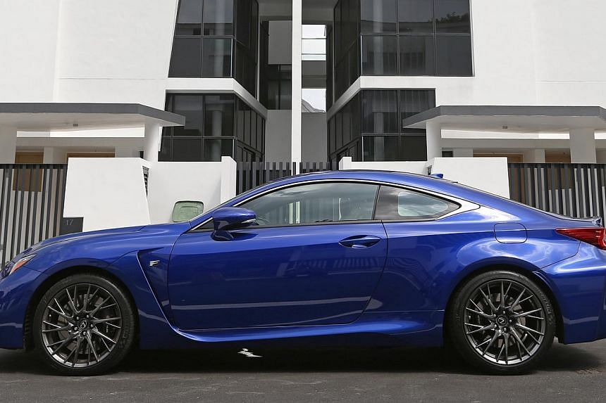 Silence takes a back seat to power, performance and aural presence in the new Lexus RC F.